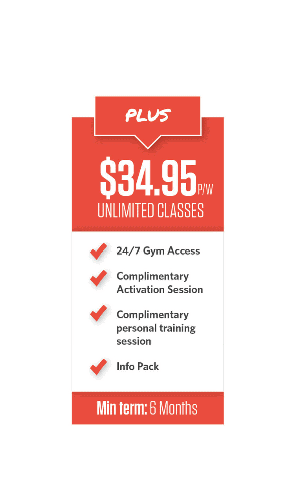 gym membership pricing option 5